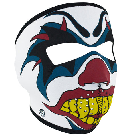 WNFM005 ZAN® Full Mask- Neoprene- Clown Full Facemasks Virginia City Motorcycle Company Apparel
