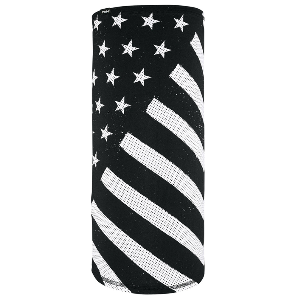 Motley Tube®, SportFlex(tm) Series- Black & White Flag - TL091 Head/Neck/Sleeve Gear Virginia City Motorcycle Company Apparel