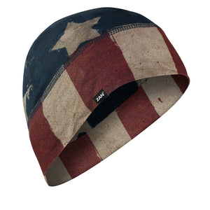 WHLL408 Helmet Liner/Beanie SportFlex(tm) Series, Patriot Head/Neck/Sleeve Gear Virginia City Motorcycle Company Apparel