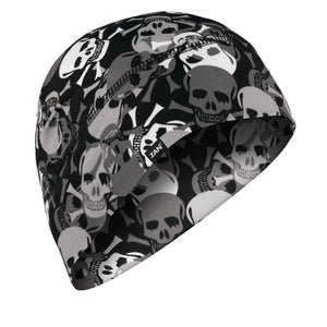 WHLL424 Helmet Liner/Beanie SportFlex(tm) Series, All Over Skull Head/Neck/Sleeve Gear Virginia City Motorcycle Company Apparel