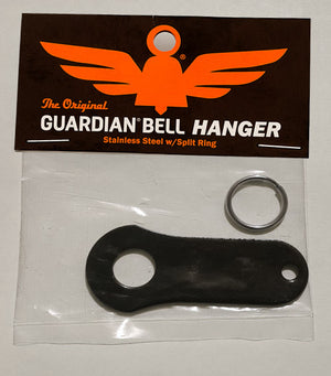 GB Bell H BLK Bell Hanger - Black Guardian Bells Virginia City Motorcycle Company Apparel