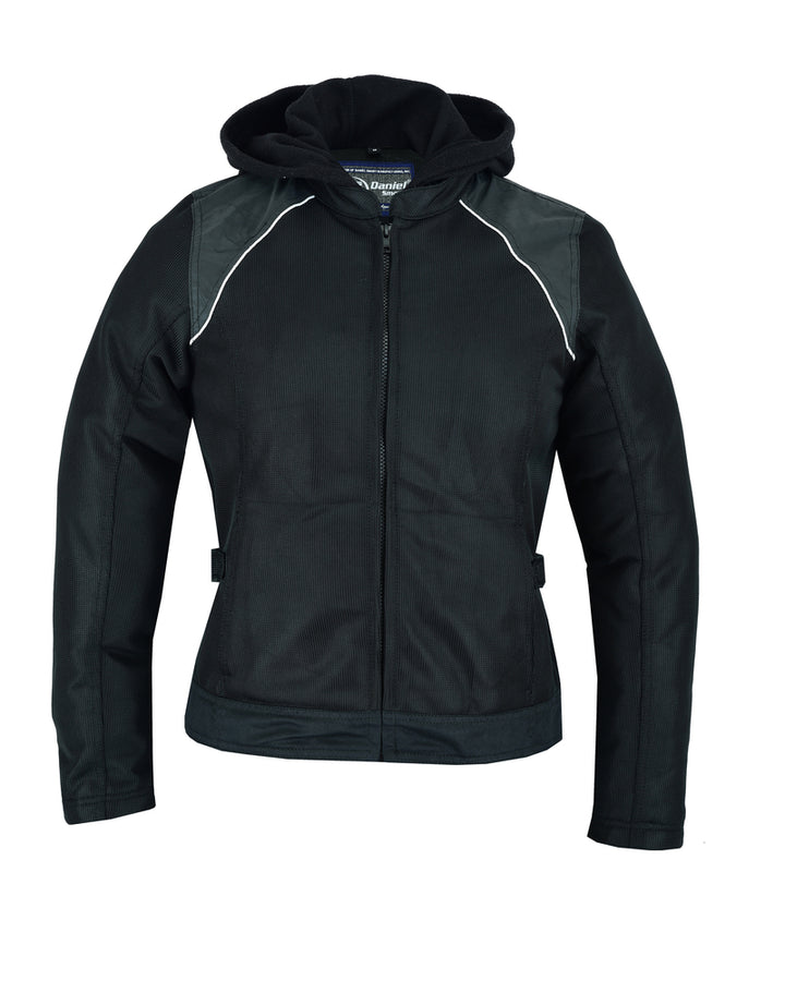 Women's Mesh Riding Jacket w/ armor pockets - DS867 Women's Jackets Virginia City Motorcycle Company Apparel
