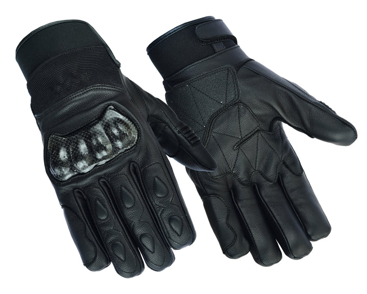 DS2492 Leather/Textile Performance Glove Men's Lightweight Gloves Virginia City Motorcycle Company Apparel