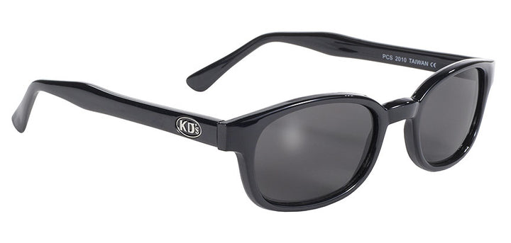 KD's Black Frame/Smoke Lens Sunglasses - 2010 Sunglasses Virginia City Motorcycle Company Apparel