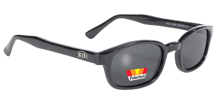 KD's Black Frame/Polarized Gray Lens Sunglasses - 2019 Sunglasses Virginia City Motorcycle Company Apparel