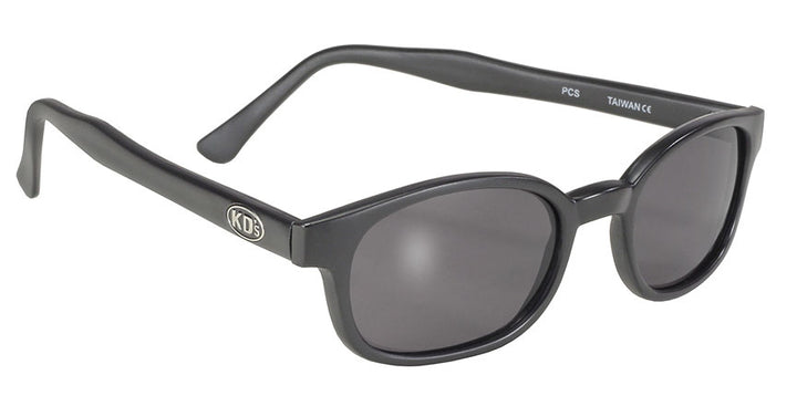 KD's Black Matte Frame/Smoke Lens Sunglasses - 20010 Sunglasses Virginia City Motorcycle Company Apparel