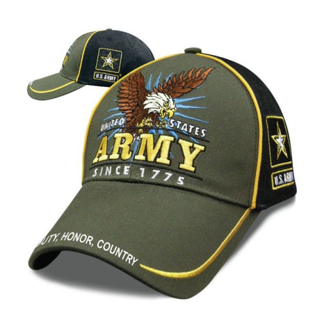 Victory - Official U.S. Army Hat - SVICAR Hats Virginia City Motorcycle Company Apparel
