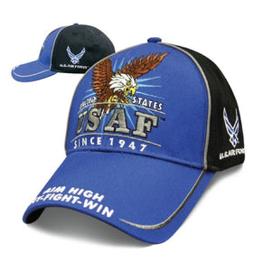 Victory - Official U.S. Air Force - SVICAF Hats Virginia City Motorcycle Company Apparel