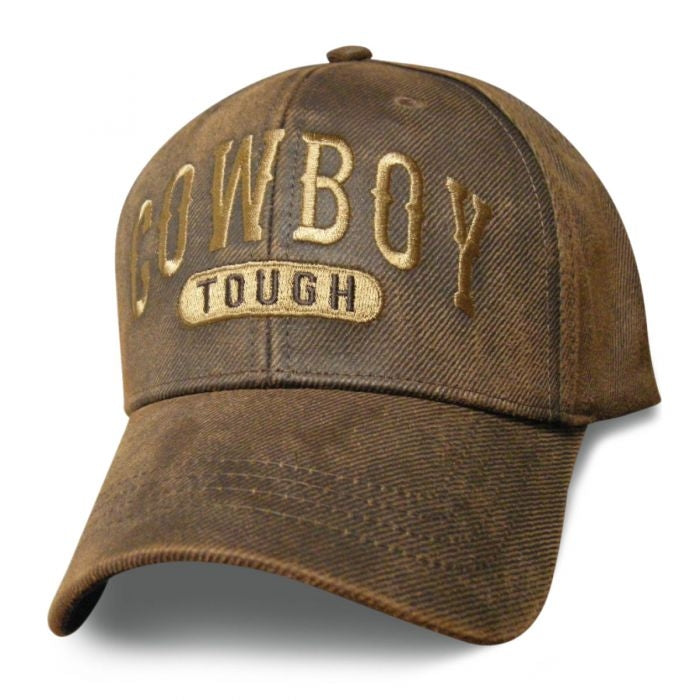 Cowboy Tough Oilskin Hat - SCOTOU Hats Virginia City Motorcycle Company Apparel