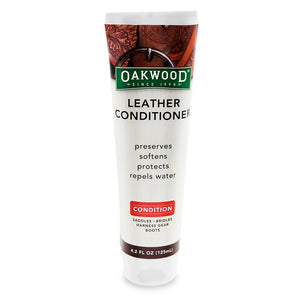 Oakwood Leather Conditioner  - 4.2 Oz. Tube - 4511 Bike Cleaners Virginia City Motorcycle Company Apparel