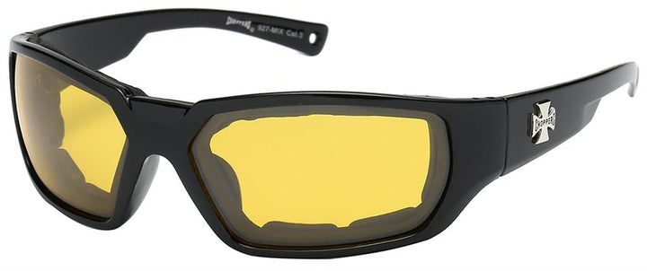 Choppers (R) MIX Foam Padded Sunglasses - Assorted - Sold by the Dozen - 8CP927 Sunglasses Virginia City Motorcycle Company Apparel