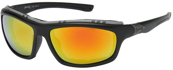 Choppers (R) Foam Padded Sunglasses - Assorted - Sold by the Dozen - 8CP928 Sunglasses Virginia City Motorcycle Company Apparel