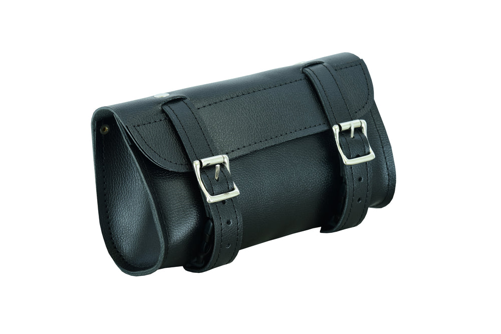 Motorcycle Leather Tool/Roll Bag - DS5728 Tool Bags Virginia City Motorcycle Company Apparel