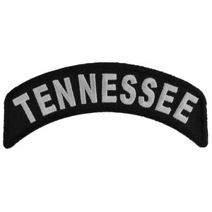 Rocker Patch | Tennessee Patch | P1470 Patches Virginia City Motorcycle Company Apparel