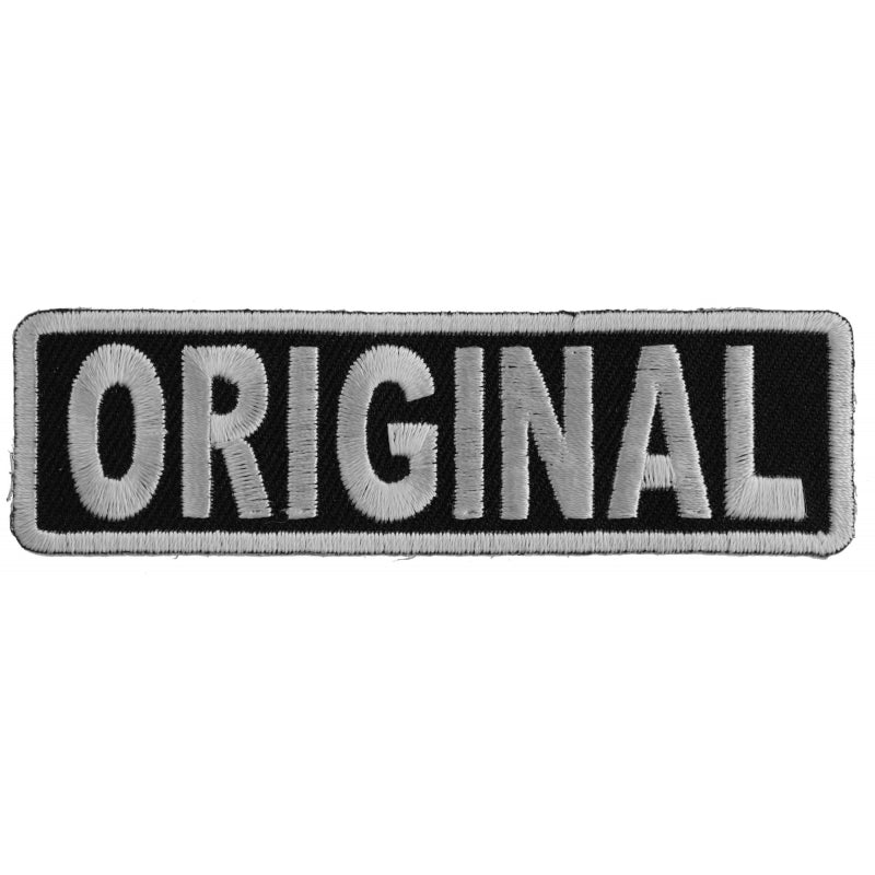 Patch | ORIGINAL Patch In Black and White | P4913 Patches Virginia City Motorcycle Company Apparel