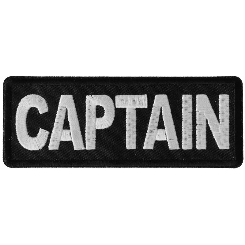 P6280 Captain Patch New Arrivals Virginia City Motorcycle Company Apparel