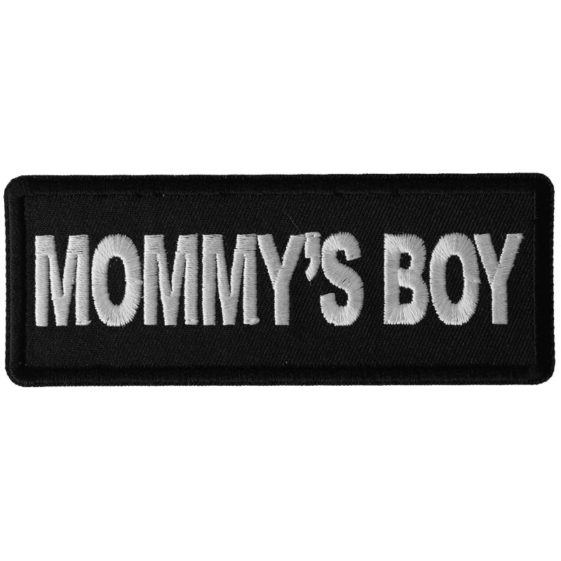 P6310 Mommy's Boy Patch New Arrivals Virginia City Motorcycle Company Apparel