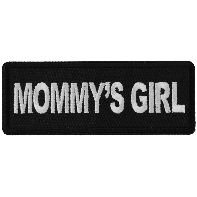 P6311 Mommy's Girl Patch New Arrivals Virginia City Motorcycle Company Apparel