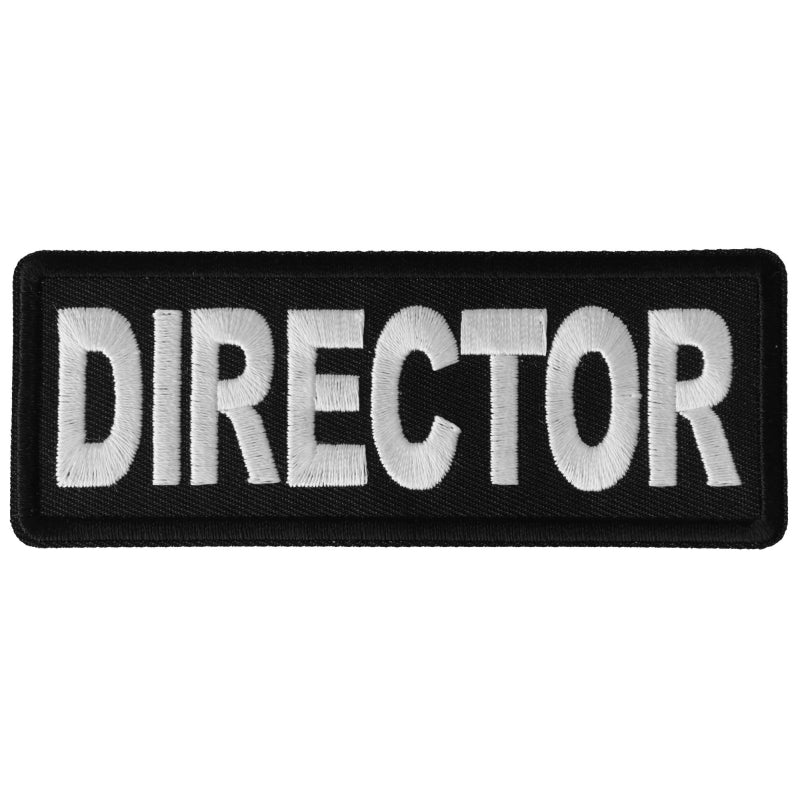 P6282 Director Patch New Arrivals Virginia City Motorcycle Company Apparel