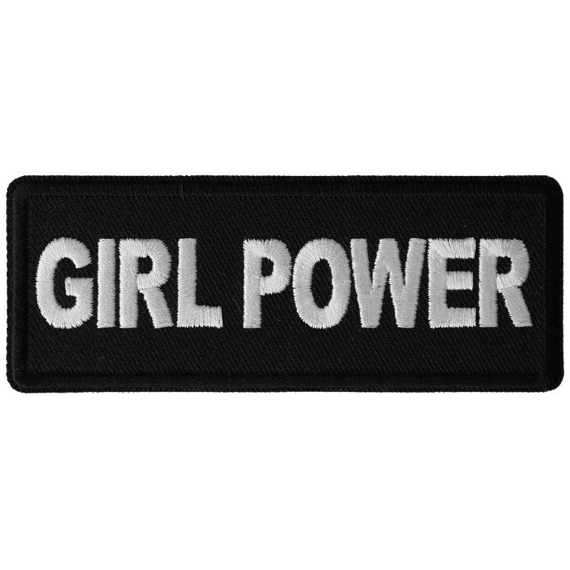 P6376 Girl Power Patch New Arrivals Virginia City Motorcycle Company Apparel
