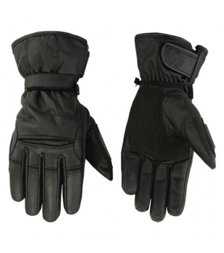 Men's Heavy Duty Insulated Cruiser Glove - DS20 Men's Gauntlet Gloves Virginia City Motorcycle Company Apparel