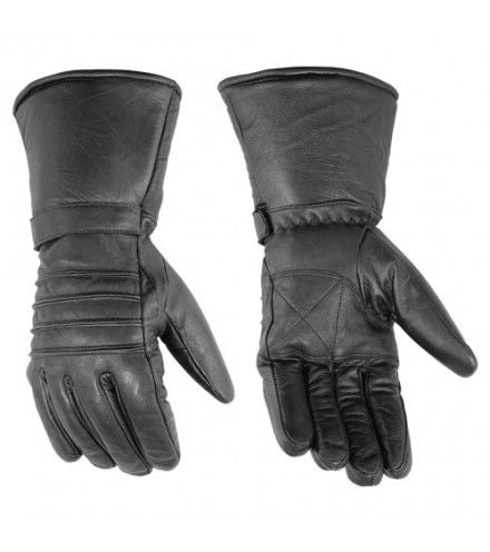 DS41 Cold Weather Gauntlet Gloves Virginia City Motorcycle Company Apparel