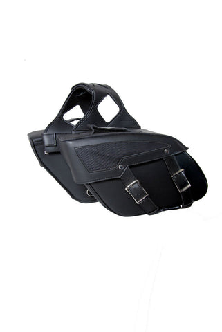 DS313 Two Strap Saddle Bag Saddle Bags Virginia City Motorcycle Company Apparel