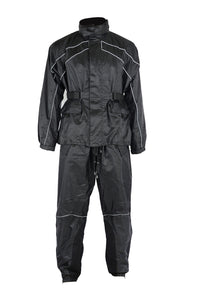 DS590BK Rain Suit Rain Suits Virginia City Motorcycle Company Apparel
