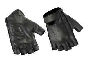 DS64 Premium Fingerless Cruiser Glove Gloves Virginia City Motorcycle Company Apparel