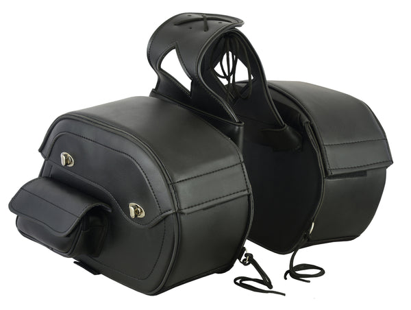 DS300 Two Strap Saddle Bag Saddle Bags Virginia City Motorcycle Company Apparel