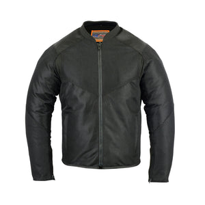 Men's Sporty Mesh Textile Motorcycle Jacket - DS760 Men's Jackets Virginia City Motorcycle Company Apparel