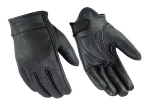 DS48 Premium Short Cruiser Glove Men's Lightweight Gloves Virginia City Motorcycle Company Apparel