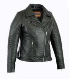 Ladies Updated Lightweight Stylish Motorcycle Jacket - DS835 Women's Jackets Virginia City Motorcycle Company Apparel