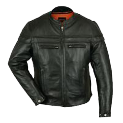 Daniel Smart - Men's Sporty Motor Jacket - TALL - DS701TALL Men's Jackets Virginia City Motorcycle Company Apparel