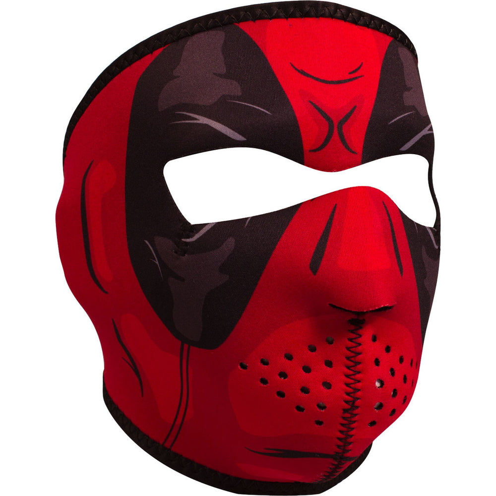 ZAN® Full Mask- Neoprene- Red Dawn - WNFM109 Full Facemasks Virginia City Motorcycle Company Apparel