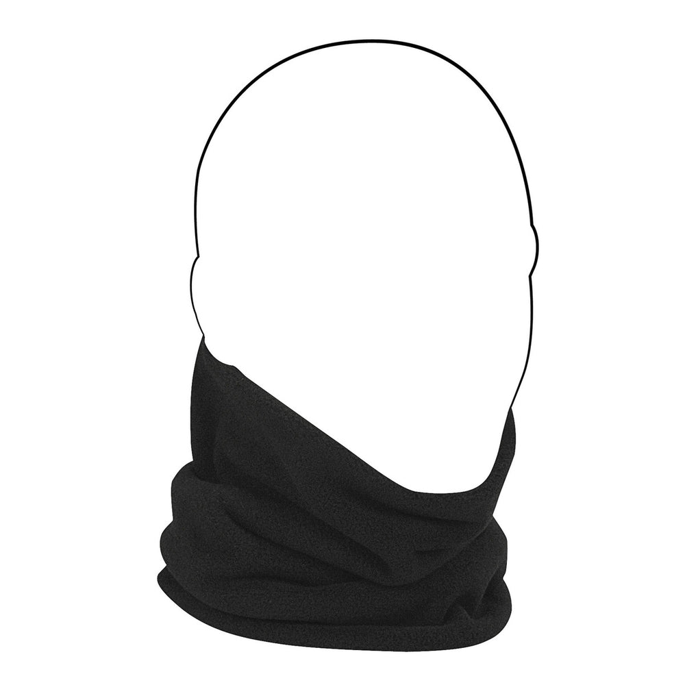 ZAN® Neck Gaiter- Microfleece- Black - WFMFN114 Head/Neck/Sleeve Gear Virginia City Motorcycle Company Apparel