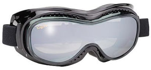 Airfoil Goggle- Silver - 9300 Goggles Virginia City Motorcycle Company Apparel