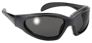 Chopper Motorcycle Black Frame/Smoke Lens Sunglasses- 4360 Sunglasses Virginia City Motorcycle Company Apparel