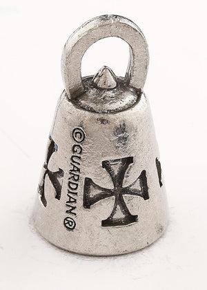 GB Iron Cross Guardian Bell® Iron Cross Guardian Bells Virginia City Motorcycle Company Apparel