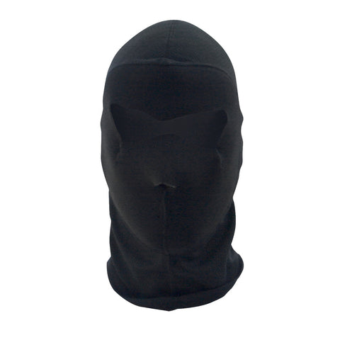 Balaclava Extreme- COOLMAX®- Full Mask- Black - WBC114NFME Head/Neck/Sleeve Gear Virginia City Motorcycle Company Apparel