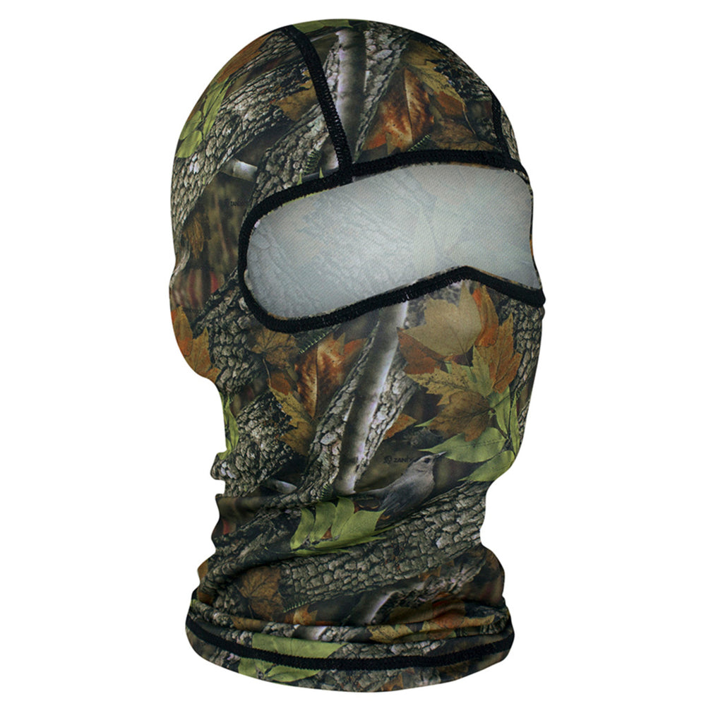 WBP238 Balaclava Polyester- Forest Camo Head/Neck/Sleeve Gear Virginia City Motorcycle Company Apparel