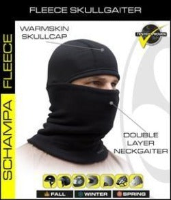 Neck Gaiter - Double Layer Fleece w/ Warmskin Skullcap - NG003 Head/Neck/Sleeve Gear Virginia City Motorcycle Company Apparel