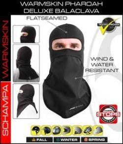 Pharaoh Deluxe Balaclava- Storm Gear Bottom- Warm Skin Top - BLCLV012 Head/Neck/Sleeve Gear Virginia City Motorcycle Company Apparel