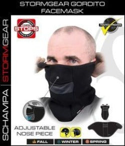 StormGear Gordito Facemask w/ Velcro Closure - VNG004 Head/Neck/Sleeve Gear Virginia City Motorcycle Company Apparel