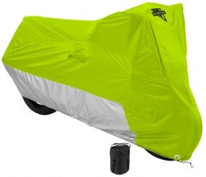 MC-905 Bike Cover- Hi-Vis Yellow Bike Covers Virginia City Motorcycle Company Apparel