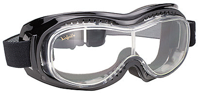 Airfoil Goggle- Clear - 9305 Goggles Virginia City Motorcycle Company Apparel