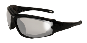 Shorty 24 Motorcycle Safety Glasses w/ Clear Anti-Fog Lenses - 24ShortyKitA/F Photochromatic Glasses Virginia City Motorcycle Company Apparel