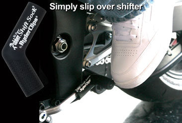 RSS-BLACK Rubber Shift Sock- Black Lever Covers & Floor Boards Virginia City Motorcycle Company Apparel