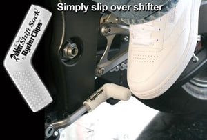 RSS-GLO/WHITE Rubber Shift Sock- Glo-White Lever Covers & Floor Boards Virginia City Motorcycle Company Apparel