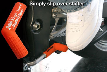 RSS-ORANGE Rubber Shift Sock- Orange Lever Covers & Floor Boards Virginia City Motorcycle Company Apparel